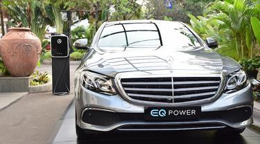 Mercedes Benz E 350e, Mobil dengan Tenaga Listrik Pertama di Indonesia