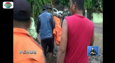 Tim SAR Gabungan berhasil menemukan kembali satu korban banjir bandang di Jeneponto. Satu korban meninggal dunia teridentifikasi bernama Rifal (25) asal Desa Sapanang.