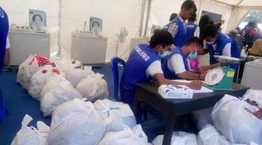 Layanan Gratis Cuci Pakaian, dari Samsung untuk Korban Gempa Lombok