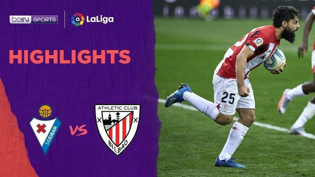 Berita Video Highlights La Liga, Athletic Bilbao Ditahan Imbang Eibar yang berkahir dengan skor 2-2