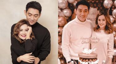 6 Momen Kompak Ifan Seventeen dan Citra Monica Pakai Baju Couple, Serasi