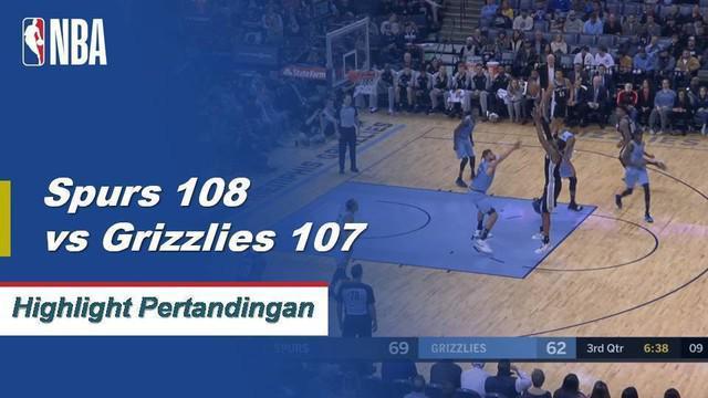 LaMarcus Aldridge mencetak 22 poin dengan 11 rebound dan Patty Mills menambahkan 22 poin dari bangku cadangan membawa Spurs menang dari kekalahan 4 kali beruntun