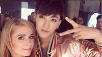 Paris Hilton akui Tao pria yang baik dan penyanyi bertalenta [foto: Instagram/parishilton]