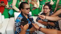 Menteri Negara Pemberdayaan Perempuan dan Perlindungan Anak, Yohana Susana Yembise. (Liputan6.com/Hanz Jimenez Salim)