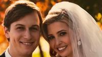 Ivanka Trump dan Jared Kushner merayakan pernikahan (Dok.Instagram/@ivankatrump/https://www.instagram.com/p/B4CiERSBKlm/Komarudin)