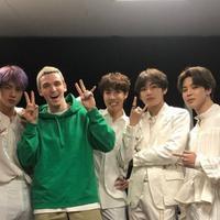 BTS dan Lauv (Soompi)