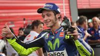 Pebalap Yamaha, Valentino Rossi, mengakui bakal sulit memenangi balapan MotoGP Austin, Amerika Serikat, Minggu (10/4/2016).