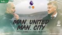 Premier League - Manchester City Vs Manchester United - Head to Head (Bola.com/Adreanus Titus)