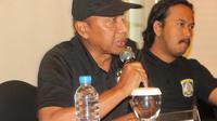 Pelatih Sriwijaya FC, Rahmad Darmawan. (LIputan6.com/Abelda Gunawan)