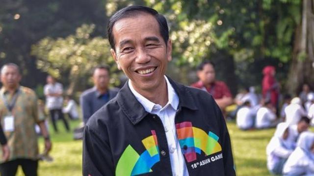 Jokowi Apresiasi Dedikasi dan Perjuangan Atlet yang Berlaga di Asian Para Games 2018
