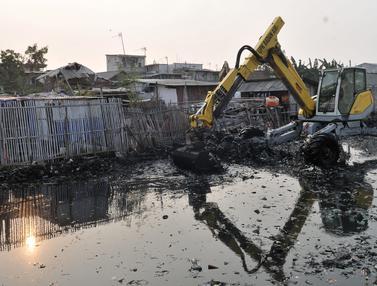 Setelah Viral, Lautan Sampah Kampung Bengek Mulai Dibersihkan