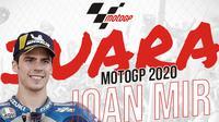 Juara MotoGP 2020: Joan Mir. (Bola.com/Dody Iryawan)