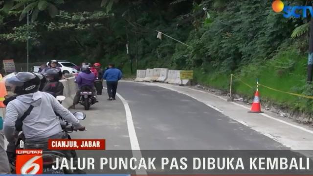 Keputusan ini diambil setelah pihak kepolisian, TNI, Pemkab Cianjur, dan Balai Besar Pekerjaan Jalan Nasional, melakukan dialog.