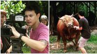 Aktor sinetron Hardi Fadhillah kini sibuk usaha ternak sapi. (Sumber: Instagram/@hardifadhillah_sapimonster)