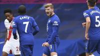 Timo Werner cetak dua gol untuk Chelsea saat melawan Southampton (AP)