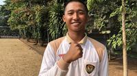 Calon Paskibraka Nasional 2019 dari Kepulauan Riau, Muhammad Pazi. (Foto: Liputan6.com/Ratu Annisaa Suryasumirat).