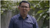 Basuki Tjahaja Purnama atau Ahok saat ngevlog pertama kali usai bebas dari penjara. (Youtube: Panggil Saya BTP)