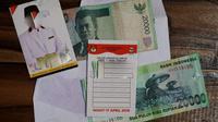 Praktek politik uang yang didapati oleh Bowo Leksono, pegiat sosial yang juga Direktur CLC Purbalingga. (Foto: Liputan6.com/Bowo untuk Galoeh Widura)
