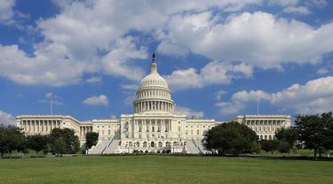 US Capitol, Gedung Kongres AS (DPR dan DPD) (Wikimedia / Creative Commons)