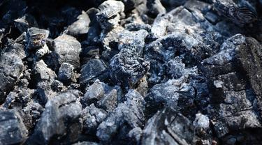 ilustrasi abu batu bara.