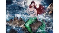 Ariel saat berbusana mirip Putri Duyung (Dok.Instagram/@arieltatum/@https://www.instagram.com/p/BrP5QPcnFoz/Komarudin)