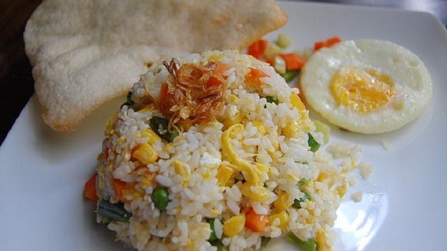 Nasi Goreng Putih Resep Cepat Sederhana Untuk Sarapan