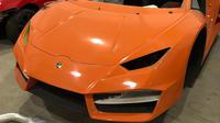 Rakitan palsu mobil sport Ferrari ditemukan di sebuah pabrik terselubung di Brasil (AP Photo)