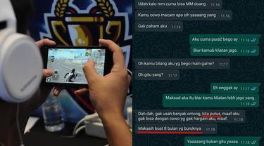 7 Chat Ribut Sama Pacar Karena Game Ini Bikin Nyesek, Ada yang Putus