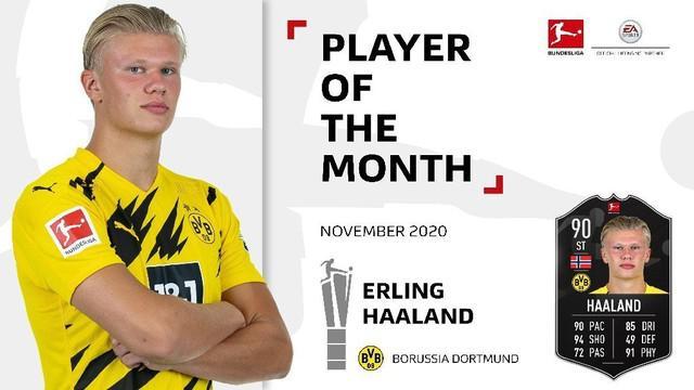 Berita video, Erling Haaland Jadi Pemain Terbaik Bundesliga November 2020