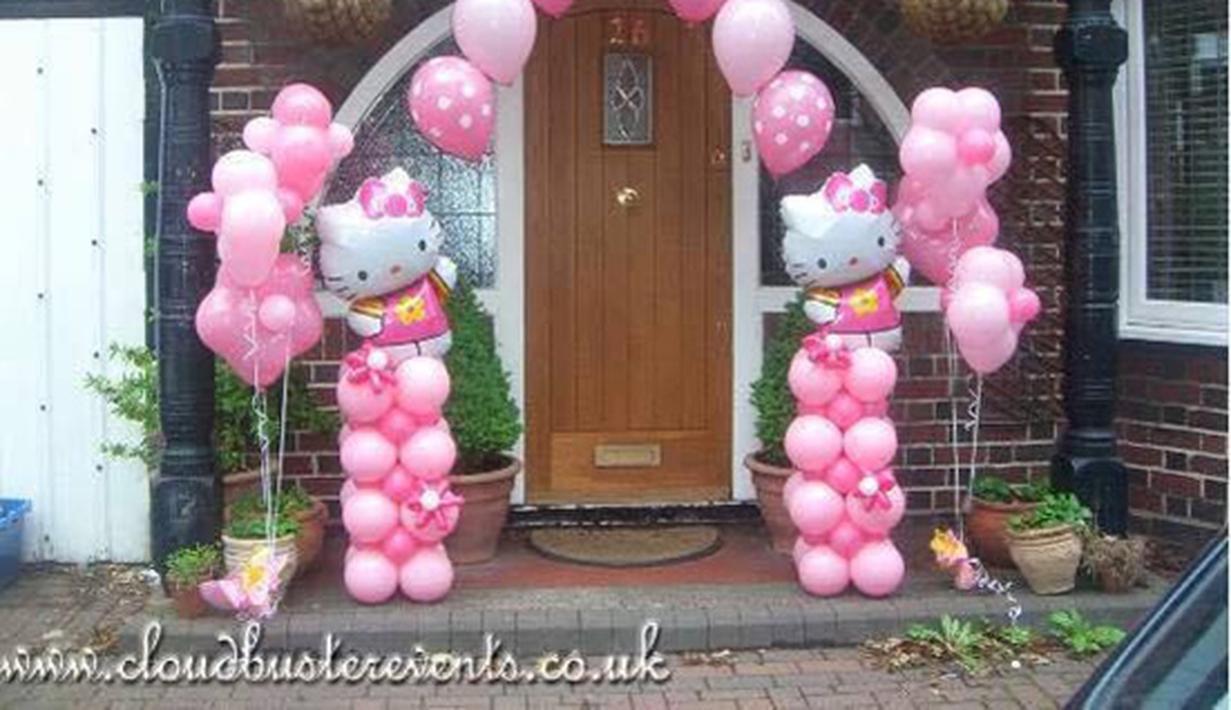Bertema Hello Kitty Suasana Pesta Ini Makin Kece Dan Cute Fashion