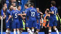 Chelsea lolos ke Liga Champions musim depan. (AFP/Daniel Leal-Olivas)