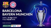 Liga Champions - Barcelona Vs Bayern Munchen (Bola.com/Adreanus Titus)