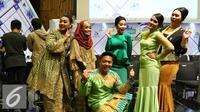Peserta D'Academy Asia 2 dari Singapura (Liputan6.com/Fatkhur Rozaq)