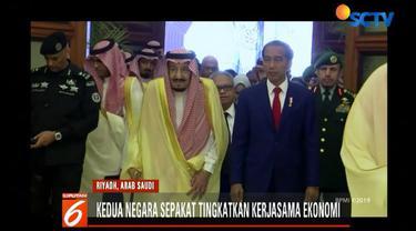 Presiden Jokowi juga menyampaikan apresiasi masyarakat Indonesia atas rencana tambahan kuota haji sebesar 10 ribu bagi jemaah asal Indonesia.