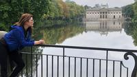 Tamara Bleszynski saat berkunjung ke beberapa destinasi wisata di kampung halamannya, Polandia. (dok. Instagram @tamarableszynskiofficial/https://www.instagram.com/p/B1-7JjolqAT/Putu Elmira)