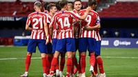 Atletico Madrid dipusingkan dua kasus positif Covid-19 jelang menghadapi RB Leipzig (AFP)
