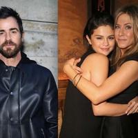 Justin Theroux, Selena Gomez dan Jennifer Aniston. (Gossip Cop)