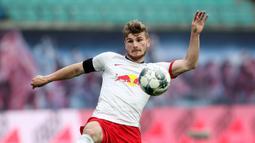 2. Timo Werner (RB Leipzig) - 24 gol dan 7 assists. (AFP/Alexander Hassenstein/pool)