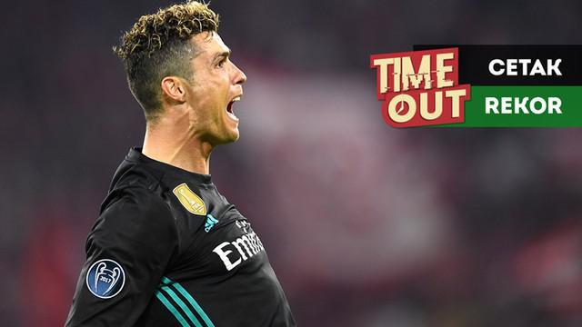 Berita video Time Out kali ini tentang Cristiano Ronaldo yang mencetak rekor baru di Liga Champions bersama Real Madrid.