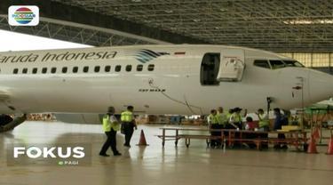 Dirjen Perhubungan Udara mengecek 10 pesawat Lion Air dan satu pesawat Garuda jenis Boeing 737 Max 8.