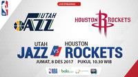 Utah Jazz Vs Houston Rockets_2 (Bola.com/Adreanus Titus)