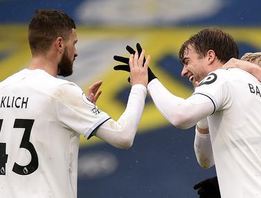 FOTO: Kalah 1-3 dari Leeds United, Tottenham Masih Malu-Malu ke Lima Besar - Patrick Bamford