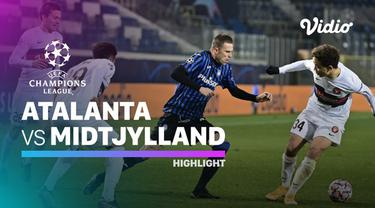 Berita video highlights matchday 5 Liga Champions 2020/2021 antara Atalanta kontra Midtjylland yang berakhir dengan skor 1-1, di mana Cristian Romero menjadi penyelamat tim tuan rumah, Rabu (2/12/2020) dinihari WIB.