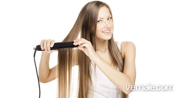 Trik Meluruskan Rambut Dengan Alat Catok - Beauty Fimela.com 1c6c896539