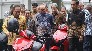 Ramai Kabar Pemenang Lelang Motor Listrik Jokowi Ditangkap Polisi, Ini 4 Faktanya