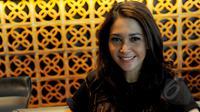 Maia Estianti sat menghadiri gala premier Film Guru Bangsa TJOKROAMINOTO di kawasan Kuningan, Jakarta Selatan (31/3/2015). Dalam film tersebut, Maia Estianti berperan sebagai ASoeharsikin, ibu mertua HOS Tjokroaminoto.(Liputan6.com/Faisal R Syam)