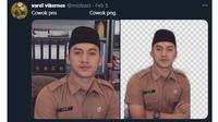6 Editan Foto Orang PNS ala Netizen Ini Bikin Ngakak (sumber: Twitter/minfeast)