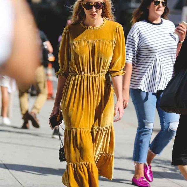 Style Tips Cara Pakai Warna Kuning Mustard Yang Chic Fashion