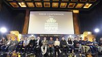Darius Sinathrya press conference IBOMA Awards 2020. (Bambang E Ros/Fimela.com)