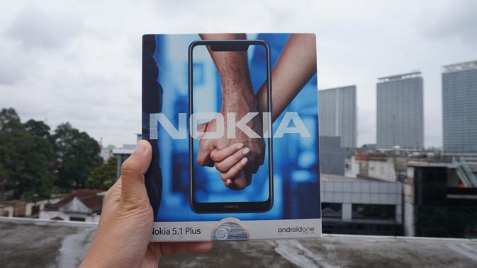 Boks Nokia 5.1 Plus (Liputan6.com/ Agustin Setyo W)